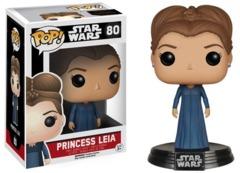 Funko POP Vinyl Bobble-Head Figure Star Wars The Force Awakens Princess Leia 80 - VAULTED