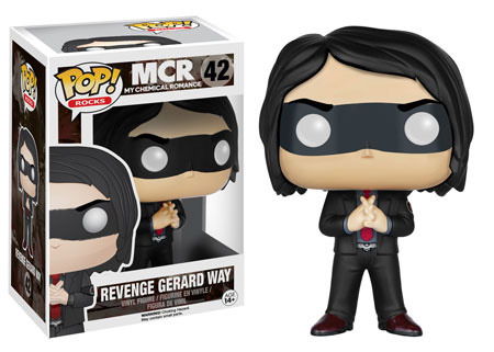 Funko POP Vinyl Figure POP! Rocks My Chemical Romance Revenge Gerard 42 - VAULTED