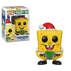 Funko POP Vinyl Figure Adventure SpongeBob Squarepants Nickelodeon - Spongebob Squarepants (Holiday) 453