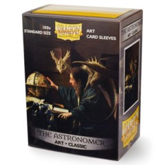 Dragon Shield Sleeves: Art Classic The Astronomer (Box Of 100) - Limited Edition