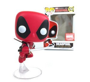 Funko POP Vinyl Bobble-Head Figure Marvel Collector Corps EXCLUSIVE Deadpool Movie - Deadpool 123
