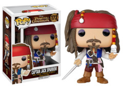 Funko POP Vinyl Figure Disney Pirates of the Caribbean - Captain Jack Sparrow 172 - VAULTED