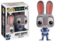 Funko POP Vinyl Figure Disney Zootopia Judy Hopps 189