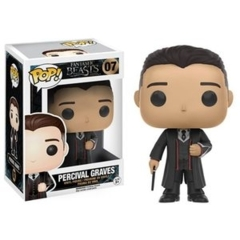 Funko POP Heroes Vinyl Figure Fantastic Beasts and Where to Find Them - Percival Graves 07