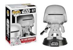 Funko POP Vinyl Bobble-Head Figure Star Wars The Force Awakens - First Order Snowtrooper 67 - VAULTED