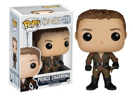 Funko POP Vinyl Figure Once Upon A Time - Prince Charming 270