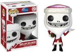 Funko POP Vinyl Figure Disney The Nightmare Before Christmas Santa Jack Skellington 72