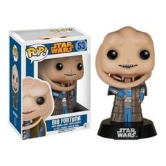 Funko POP Vinyl Bobble-Head Figure Star Wars Bib Fortuna 53 - VAULTED
