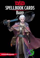 Dungeons And Dragons: Updated Spellbook Cards - Bard Deck