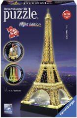 La Tour Eiffel Tower at Night - 3D Puzzle