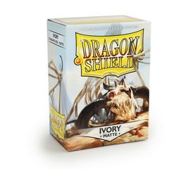 Dragon Shield Sleeves Box of 100 Matte Ivory