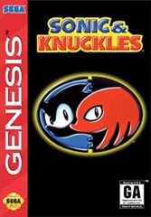 Sonic and Knuckles [Cardboard Box]
