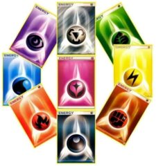Pokemon 50 Random Energy Cards Lot
