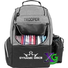 Dynamic Discs Trooper Backpack - Heather Gray