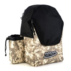 INNOVA Disc Golf Discovery Backpack - Camo / Black