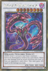 Beelze of the Diabolic Dragons - PGLD-EN016 - Gold Secret Rare - 1st Edition