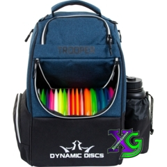 Dynamic Discs Trooper Backpack - Midnight Blue