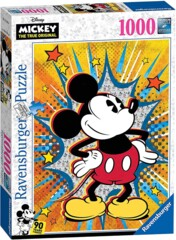 Retro Mickey Mouse Puzzle