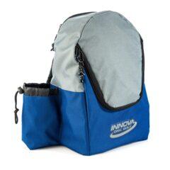 INNOVA Disc Golf Discovery Backpack - Blue / Grey