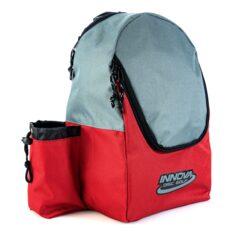 INNOVA Disc Golf Discovery Backpack - Dark Red / Grey