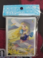 Sleeves - Lillie & Cosmog - Japanese Pokemon Center Exclusive