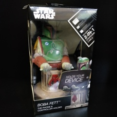 Cable Guys Star Wars - Boba Fett Phone and Controller Holder with Charging Cable