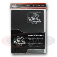 Monster Binder 9-Pocket (Black)