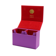 DEX The Dualist Deck Box (Purple)