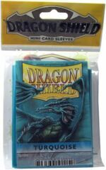 Dragon Shield Mini Card Sleeves (50 ct) - Turquoise