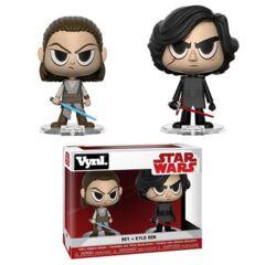 Funko Vynl Star wars - Rey and Kylo Ren