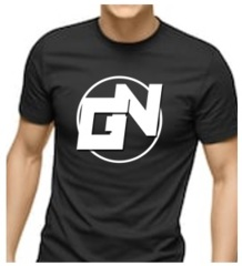 Game Nation Black Short-Sleeved T-Shirt