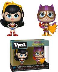Funko Vynl DC Bombshells - Wonder Woman and Batgirl