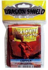 Dragon Shield Mini Card Sleeves (50 ct) - Copper