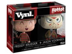 Funko Vynl Freddy Krueger and Jason Voorhees
