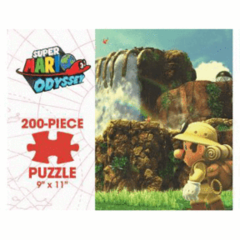 Puzzle 200pc Super Mario Odyssey: Cascade Kingdom