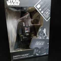Cable Guys Star Wars - Darth Vader Phone and Controller Holder with Charging Cable