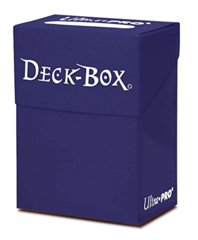 Dark Blue Ultra Pro Deck Box