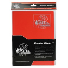 Monster 9 Pocket Binder (Matte Red)
