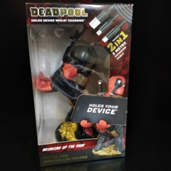 Cable Guys Deadpool Phone and Controller Holder with Charging Cable