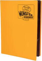 Monster 9 Pocket Binder - Orange
