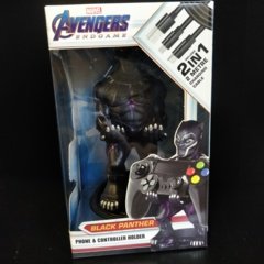 Cable Guys Avengers Endgame - Black Panther Phone and Controller Holder with Charging Cable
