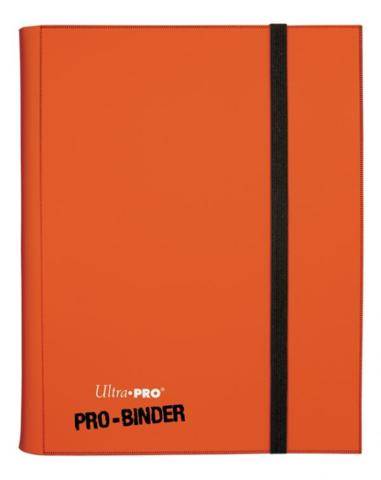 Ultra Pro Pro-Binder (Orange)