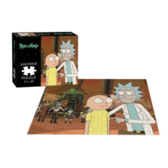 Puzzle 200pc Rick and Morty: Rickmancing the Stone