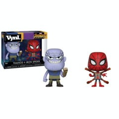 Funko Vynl Avengers Infinity War - Thanos and Iron Spider