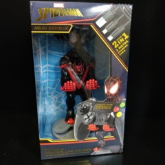 Cable Guys Spider-Man - Miles Morales Phone and Controller Holder with Charging Cable