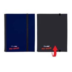 Ultra Pro 4 Pocket Flip Pro-Binder (Blue/Black)