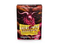 Dragon Shield Matte - Japanese size - Magenta - 60 ct