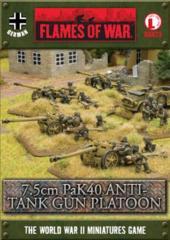 7.5cm PaK40 Anti-tank Platoon