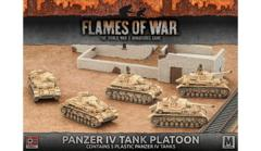 Panzer 4 tank platoon