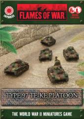 Type 97 TE-KE Platoon